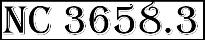 NC 3658.3