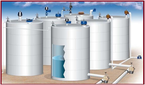 Atmospheric storage tanks