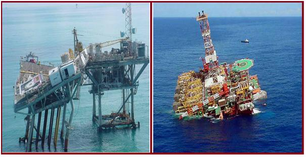 Damaged Offshore Structure