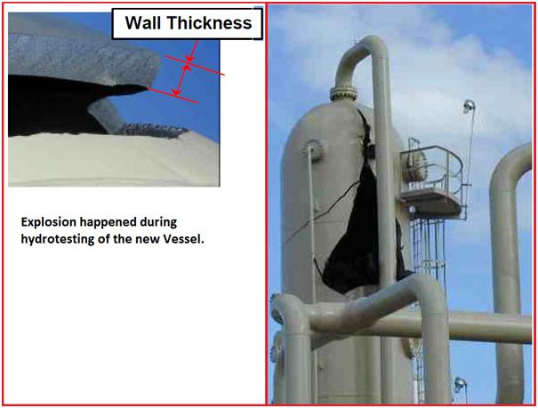 An article on: THE HAZARDS OF PRESSURE TESTING – What is Piping