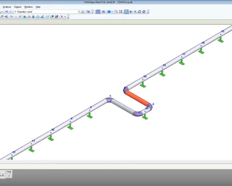 Stress Analysis of GRP / GRE / FRP piping system using