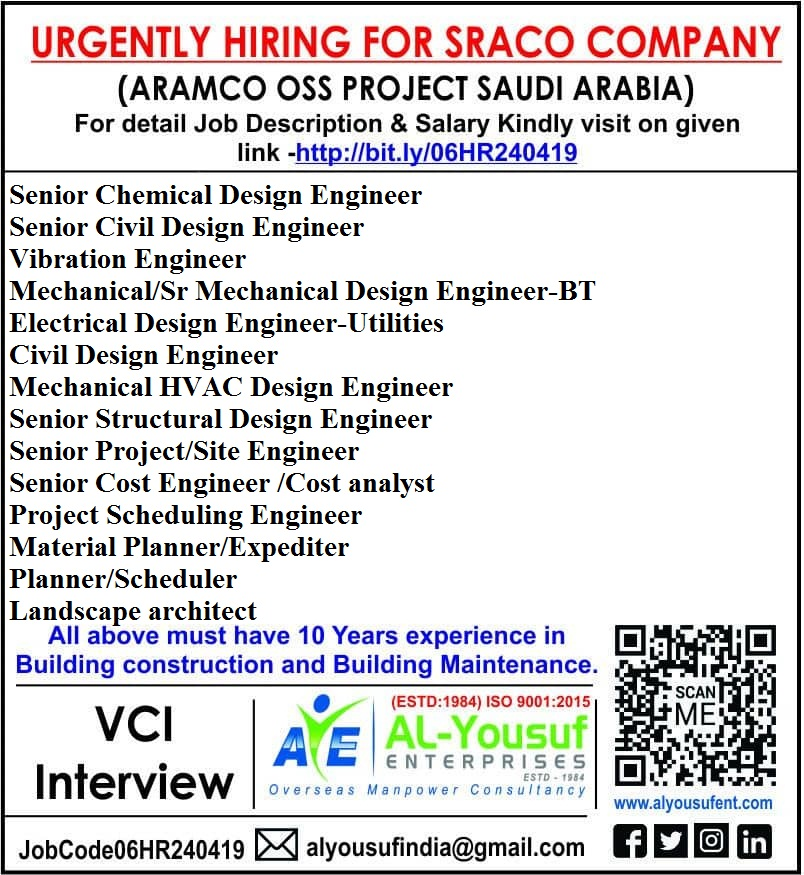 Opportunity of Design Engineers in Civil, Structural, Mechanical