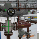 Nonstandard Valve Model for Pipe Stress Analysis: Angular, 3-way, 4-way, with Actuator