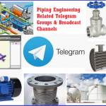 Top Telegram channels and groups that deals with piping and related engineering