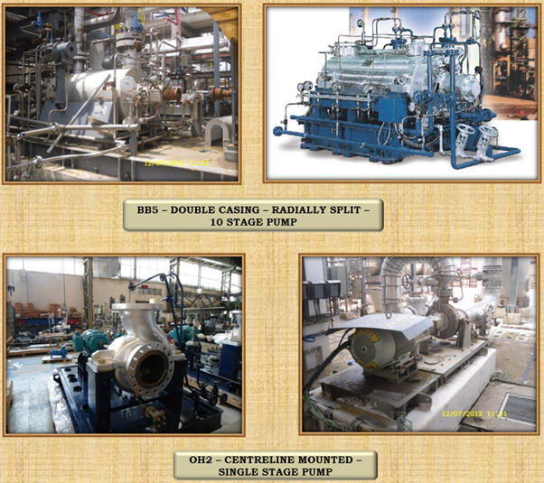 Single Stage and 10-Stage Pump